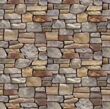 #  5 SHEETS  EMBOSSED BUMPY stone wall 21x29cm SCALE 1/6 CODE 2292t6