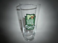"Carlsberg Lager Pint Glass MTV Europe Music Awards Glass ""Collectable"""