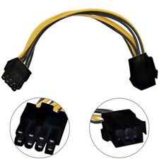 6 to 8 Pin PCI Express Power Converter Cable Cord Connector For CPU Video Card A