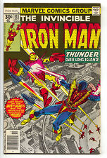 Invincible Iron Man 103 Marvel 1977 VF Jack Of Hearts Luke Cage Iron Fist Ad