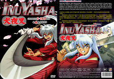 Inuyasha : Complete Vol 1-167 End DVD Box Set + 4 Movie All English Sub