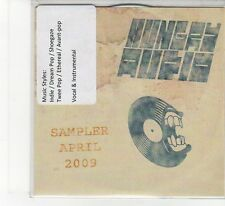 (FB182) Hungry Audio Sampler - April 2009, 8 tracks various artists - DJ CD