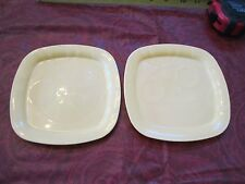 Fisher Price Servin' Surprises Food yellow plates  tray set dishes table play