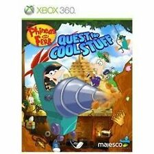 Phineas and Ferb: Quest for Cool Stuff - Xbox 360 Xbox 360, Xbox 360 Video Games
