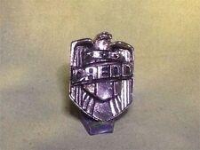 Judge Dredd Badge, Metal, Silver