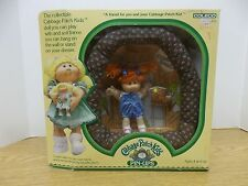 NIB Cabbage Patch Kids kid Pin Ups Framed clubhouse red hair charlene jenny