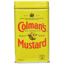 Colman's Mustard Powder  4oz tin (secret ingredient for deviled eggs)