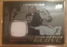 15-16 UD Contours Show Me Some Glove #S-13 Jonathan Quick-L.A. Kings Star