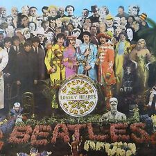 vinyl lp record BEATLES Sgt Peppers Lonely Hearts Club Band, PCS 7027