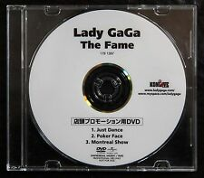 LADY GAGA The Fame Rare 3-Track Japan DVD for Music Store Use Only Montreal Show