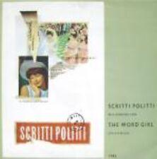 """Scritti Politti The Word Girl  Uk 12"""""""