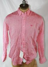 AUTH Salvatore Ferragamo Men Linen Shirt L