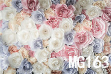 Flower Vinyl  photography Background Backdrop studio photo props  7X5FT MG163