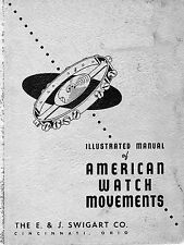 The E & J Swigart Co., Illustrated Manual of American Watch Movements on DVD