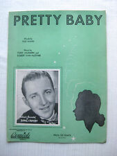 Pretty Baby Sheet Music, 1940 with Bing Crosby