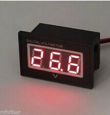 36V Golf Cart Digital Volt Meter Battery Gauge Club Car EZGO Yamaha 36 Volt- RED