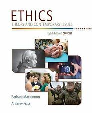 Ethics: Theory and Contemporary Issues, Concise Edition, Fiala, Andrew, MacKinno