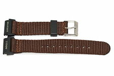 Timex 20mm Brown Expedition Indiglo Camper Nylon Watch Band Strap