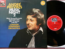 ASD 3338 STEREO QUAD ANDRE PREVINS MUSIC NIGHT 2 NM