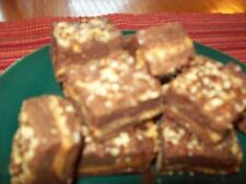 Homemade Dark Chocolate Caramel Pecan Fudge!  1lb for $11.00, 2lbs for $18.00!