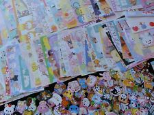 MEMO + STICKERS Stationery Cute Kawaii Gift her daughter designer Variety Lot