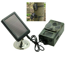 Solar Panel Charger Battery for SUNTEK HC-300M HC-300A HC-500M Hunting Camera