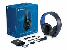 Sony Gold Wireless Stereo Headset Windows,Mac, PS4, PS3 *NEW*