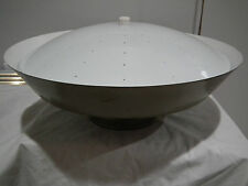 VINTAGE MID CENTURY FLYING SAUCER ATOMIC CEILING  LIGHT FIXTURE