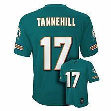 Ryan Tannehill Miami Dolphins Kids Size 5/6 NFL 2016-17 Home Replica Jersey $45