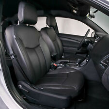 2011 2012 2013 2014 DODGE AVENGER BLACK KATZKIN LEATHER INTERIOR SEAT COVER