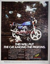 1979 HONDA 'CB650' Motor Cycle ADVERT - Vintage Original Print Ad 492b
