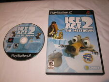 Ice Age 2: The Meltdown (Playstation PS2) Game in Case Excellent!