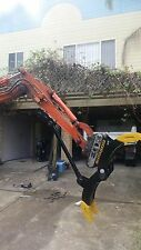 Excavator Grab, 1.7 3 4,5,6,7 8T on Adjustable Rippers, Buckets Grapple Sieves