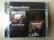 CD.NOVEMBER.EN NY TID AR HAR../2:A NOVEMBER.TRIO HEAVY BLUES STYLE CREAM LED ZEP