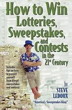 Steve Ledoux - How To Win Lotteries Sweep (1999) - Used - Trade Paper (Pape