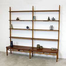 Danish Modern Shelving System by William Watting Denmark 60s Shelf | Teak Regal