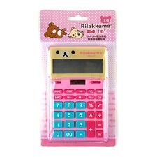 San-X Rilakkuma Korilakkuma 12 Digits Calculator School Office : Pink