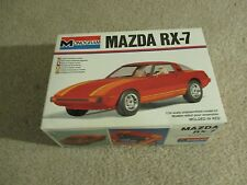 Monogram Mazda RX7 1:24 Scale Model Kit 1979 Complete Unbuilt See My Store
