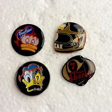 Barry Sheene Pin Badges (4) Manx TT Roberts, Mamola, Hailwood, Agostini, Dunlop.
