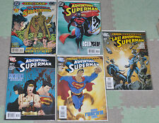 [DC Comics] The Adventures of Superman #516,639,643,648,649 - NM Bagged/Boarded