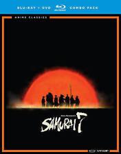Samurai 7 - The Complete Series ( Blu-ray + DVD ,10 Discs Box set w/ slipcover )