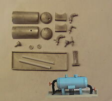 P&D Marsh N Gauge N Scale M33 Oil-water separation tank kit requires painting