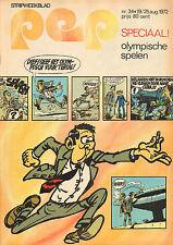 PEP 1972  nr. 34 - AGENT 327/SPECIAL OLYMPISCHE SPELEN
