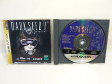 DARK SEED II 2 Item ref/bcb Sega Saturn Import Japan Video Game ss