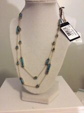 $118 House of Harlow 1960 The Long Rains Station Wrap Necklace