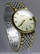 Unisex Rotary GB00497/03 Essentials Two-Tone Bracelet Watch -UK SELLER!!