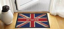 """24 """"x 16"""" personalizzata GUAM Union Jack Ingresso Tappetino Anti Scivolo Pubblicità"""