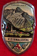 Kleinwalsertal used badge mount stocknagel hiking medallion G4957