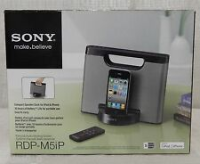 New Sony RDP-M5iP 30-Pin iPhone/iPod Portable Speaker Dock (Silver)