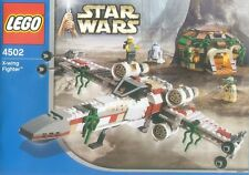 LEGO 4502 - STAR WARS - X-wing Fighter (Dagobah) - 2004 - NO BOX